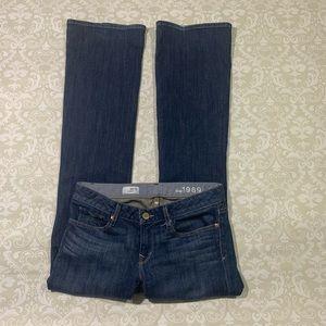 Gap Curvy Bootcut jeans size 28